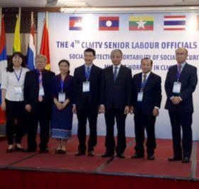 Đại biểu các nước CLMTV tại hội nghị