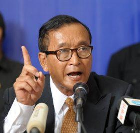 """Sam Rainsy lại tố nạn """"con ông cháu cha"""" ở Campuchia"""