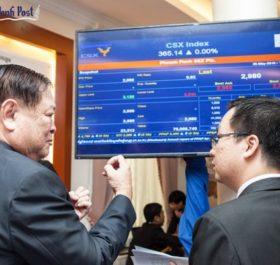 Thị trường chứng khoán Campuchia có thể phát triển gấp đôi trong 5 năm tới