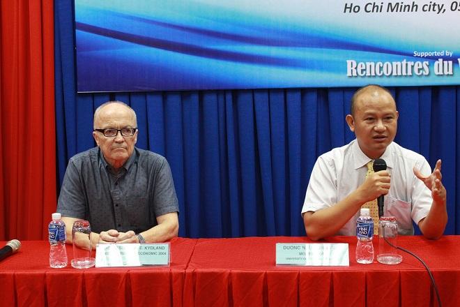 Ông Dương Như Hùng nói về tỷ giá USD, hiện đang là chủ tịch công ty EBI Việt Nam
