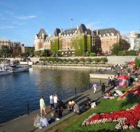 Victoria là thành phố đẹp của Canada. Hình ảnh: nguồn internet.