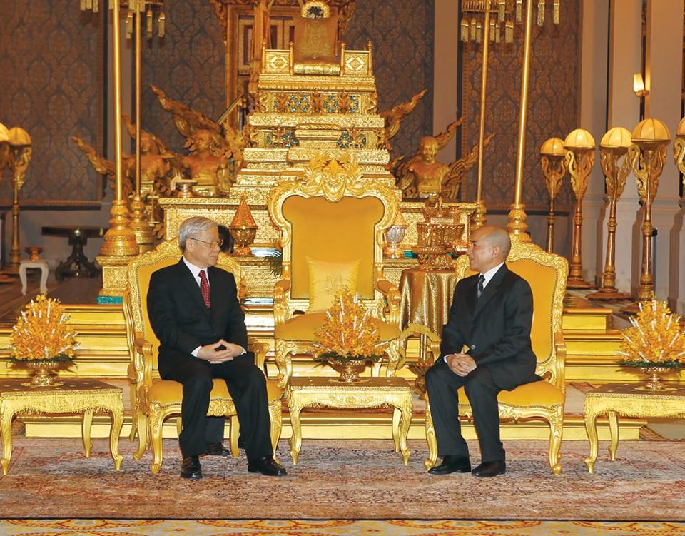 Nguyễn Phú Trọng tại Phnom Penh