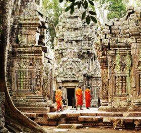 Kiến trúc Angkor Thom cổ xưa