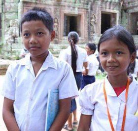 Học sinh Campuchia