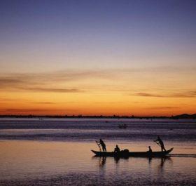 Biển hồ là nơi cung cấp nguồn cá cho người dân sống tại nơi đây.