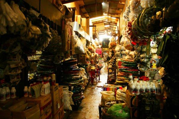 Du lịch Campuchia tại Phnom Penh: Chợ Nga.