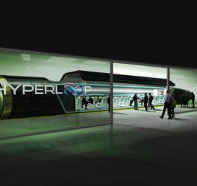 Hệ thống Hyperloop di chuyển gần bằng tốc độ âm thanh.
