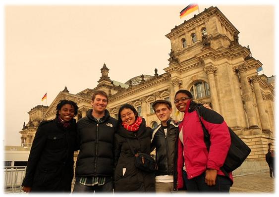 Gặp gỡ bạn mới ở Đức