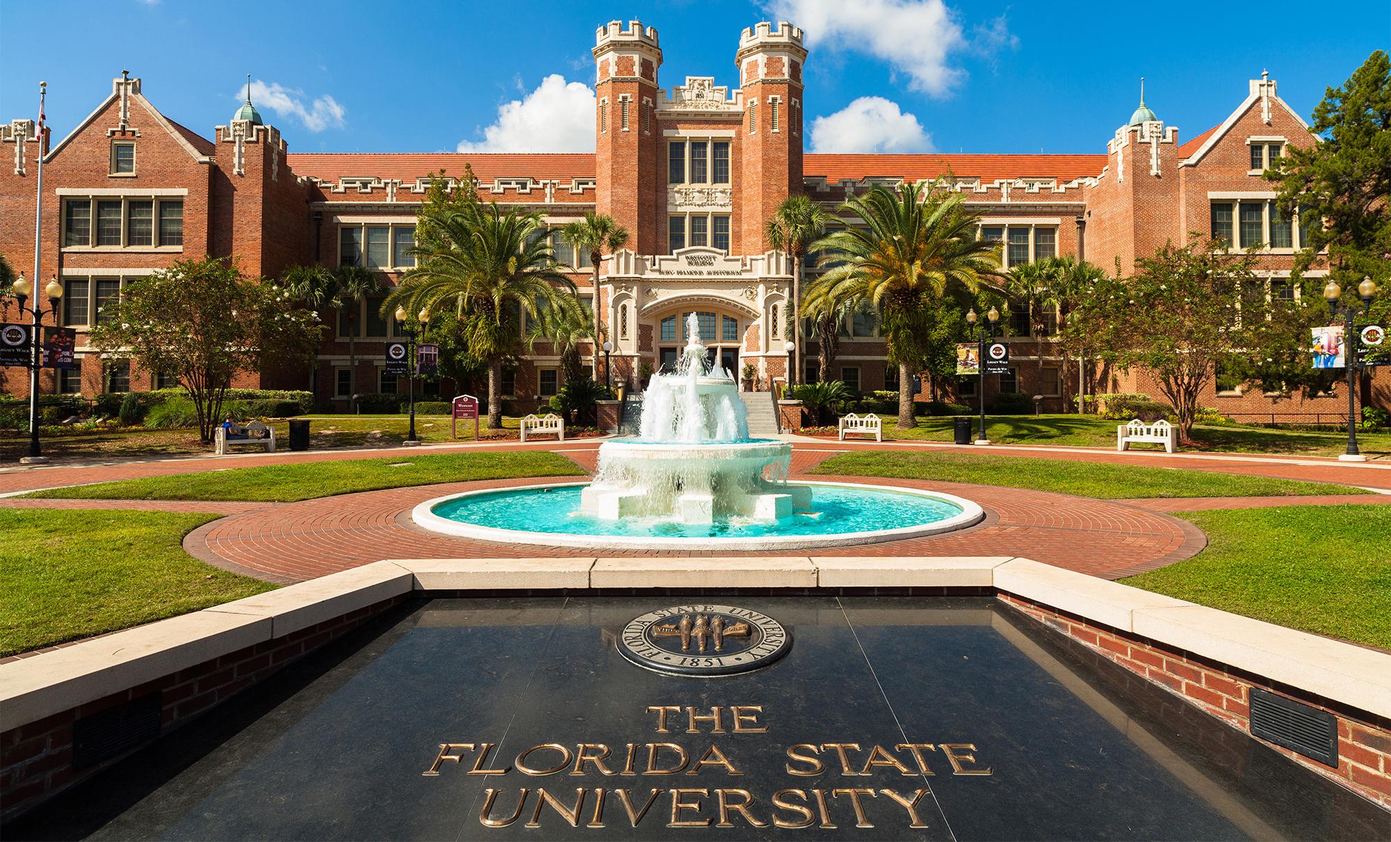 Khuôn viên trường đại học Florida, Mỹ
