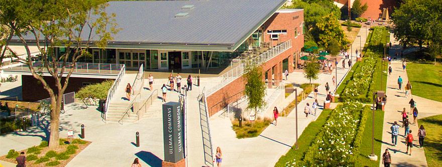 Một góc sân trường California Lutheran University