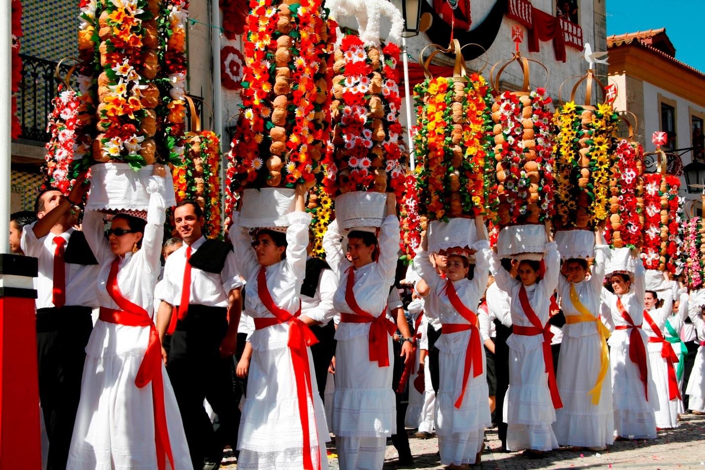 Lễ Hội Festa dos Tabuleiros, Tomar ở Bồ Đào Nha