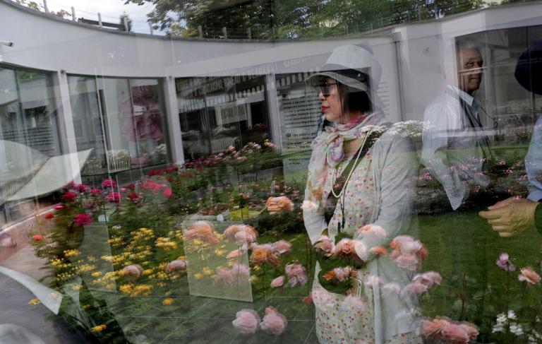 Bảo tàng Hoa hồng, nằm trong công viên Vườn hoa hồng ở Kazanlak.