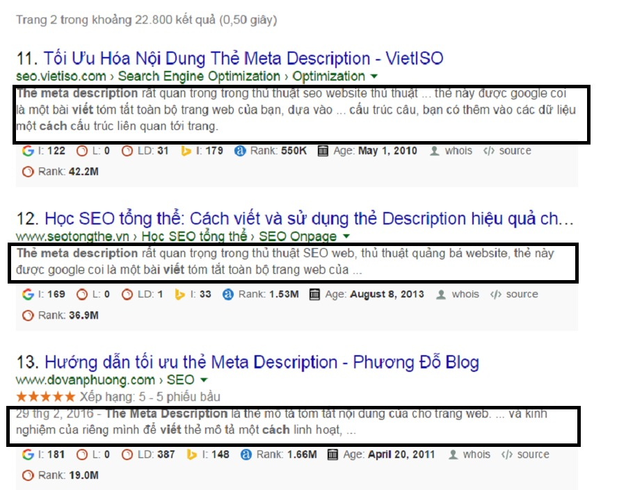 Thẻ meta description