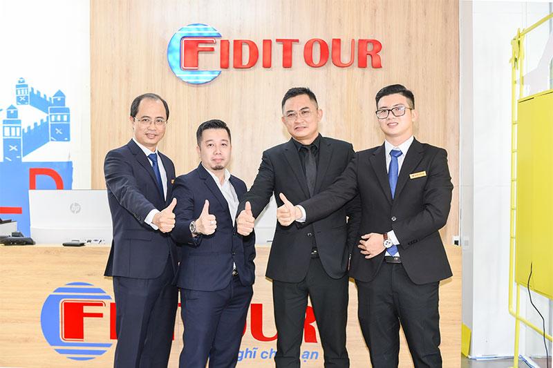 Ban lãnh đạo công ty cổ phần Fiditour