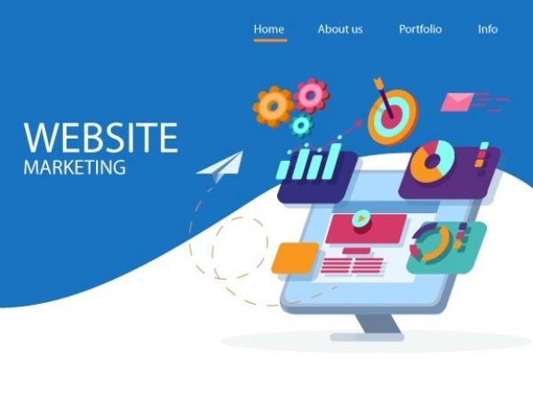 Website là một trong những yếu tố không thể thiếu cho Marketing