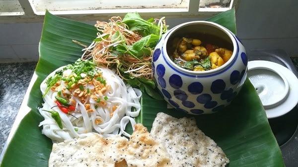 Mì Quảng là một món ăn nổi tiếng ở Đà Nẵng