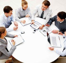 cuộc họp tại công ty