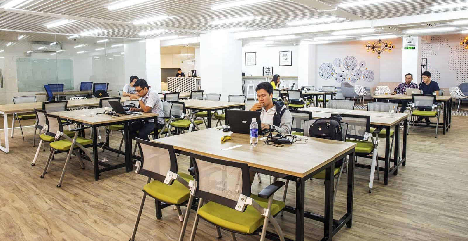 Mô hình thuê chỗ ngồi làm việc