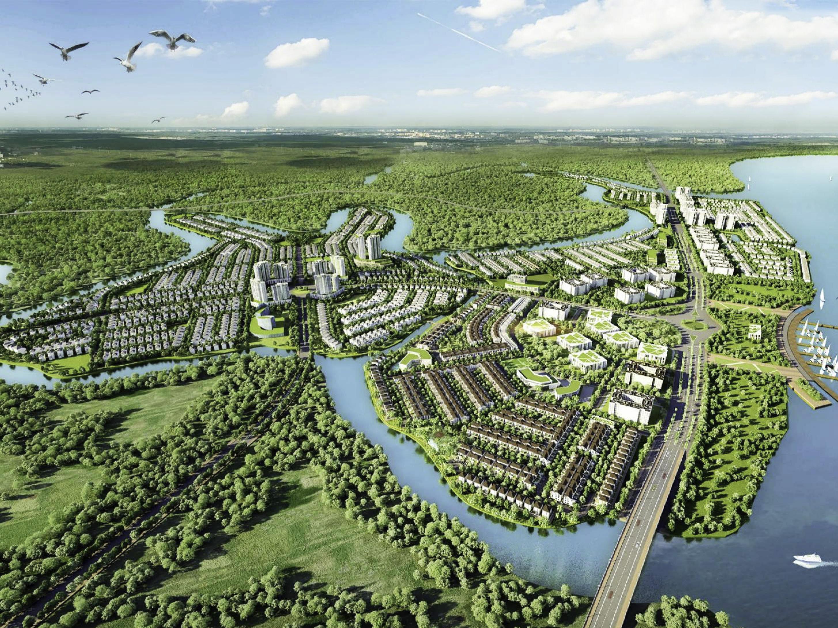 aqua city quy hoạch