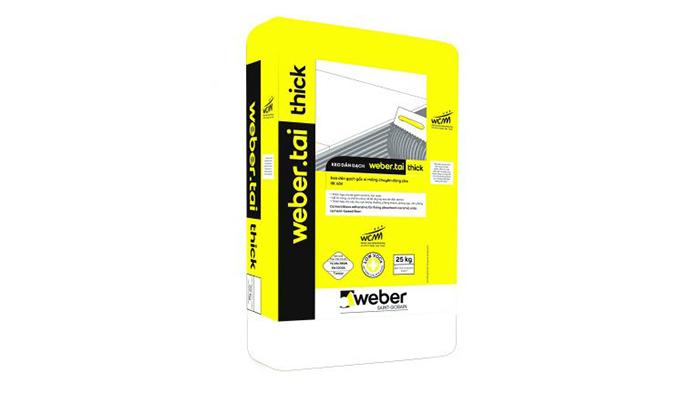 Sản phẩm keo dán gạch Weber