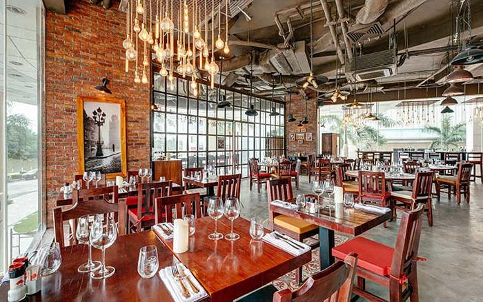 Không gian bên trong steakhouse El Gaucho Đà Nẵng