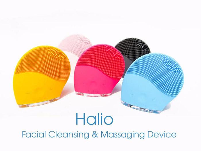 Halio là thương hiệu máy rửa mặt Mỹ, sử dụng công nghệ Sonic Wave Cleansing giúp làm sạch và sâu gấp các lỗ chân lông